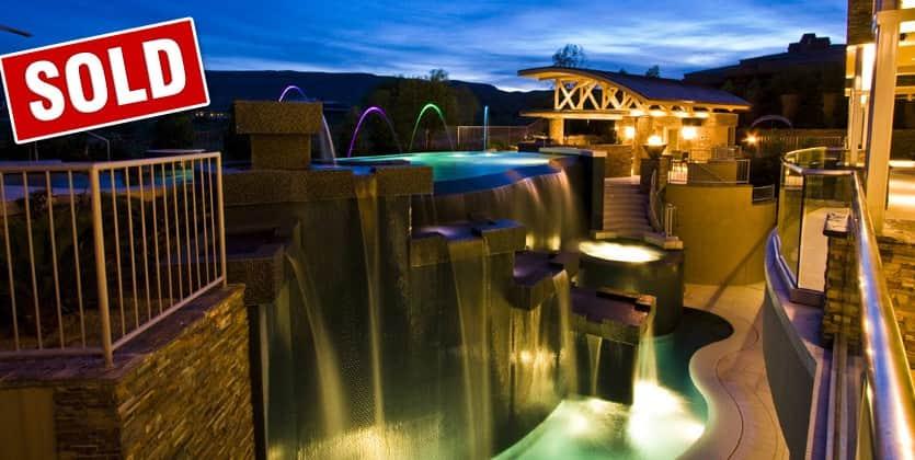 Sold Luxury Home in the Ridges Las Vegas