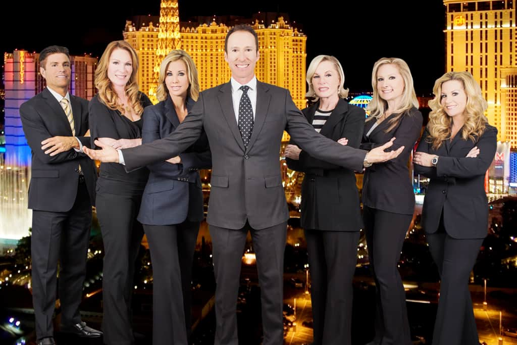 luxury homes of las vegas team photo