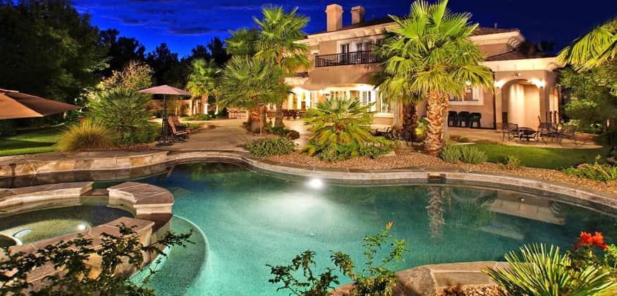 canyon fairways luxury home