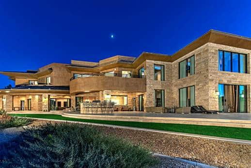 Luxury homes in the ridges luxury homes of las vegas for Luxury homes for sale la