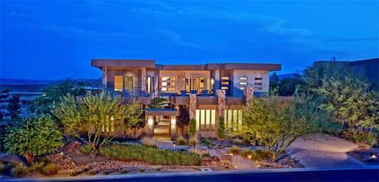 the ridges luxury home