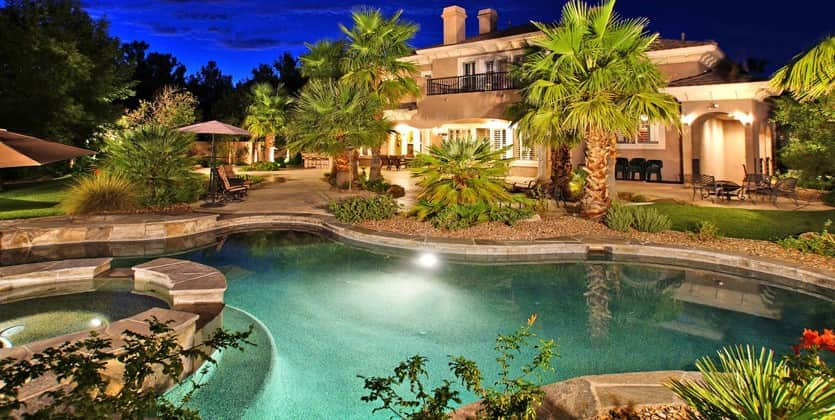 canyon fairways luxury home