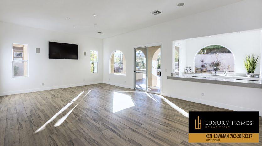 living room at 3181 Turtle Head Peak Dr, Las Vegas, NV 89135
