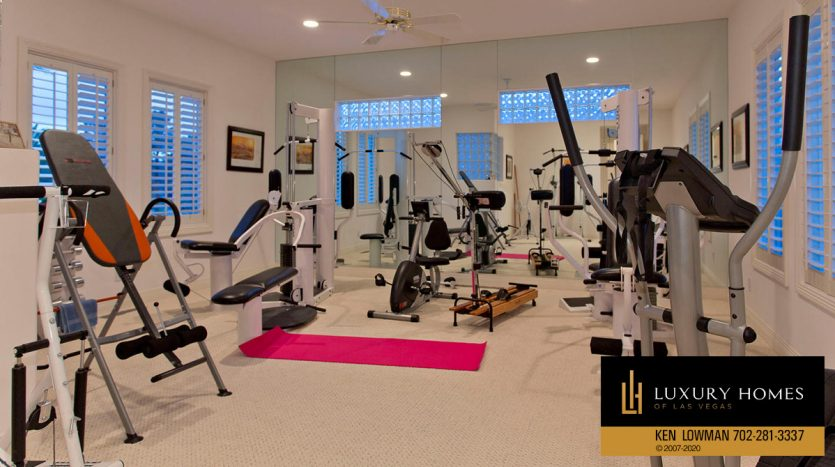 House Gym, Spanish Trail Country Club Home for Sale, 76 Innisbrook
