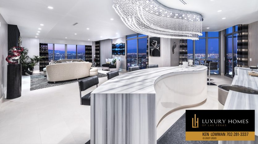 Allure Penthouse for Sale, 200 W Sahara Units #4101