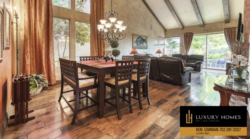 dining area at Canyon Gate Home for Sale, 8941 Diamond Falls Dr