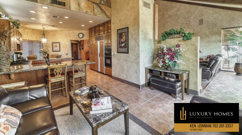 living area space at Canyon Gate Home for Sale, 8941 Diamond Falls Dr