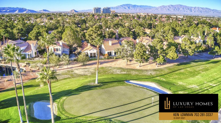 golf course view at Canyon Gate Home for Sale, 8941 Diamond Falls Dr