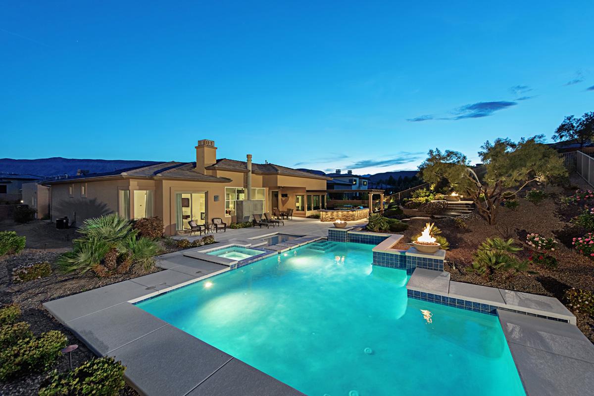 Luxury homes in The Ridges Las Vegas