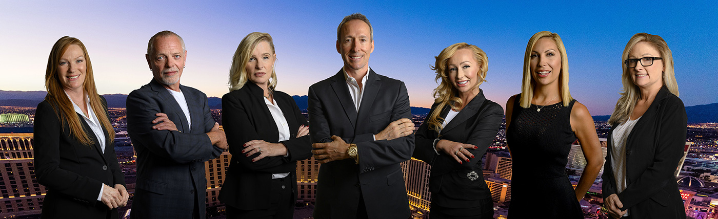 ken lowman and luxury homes of las vegas sales team