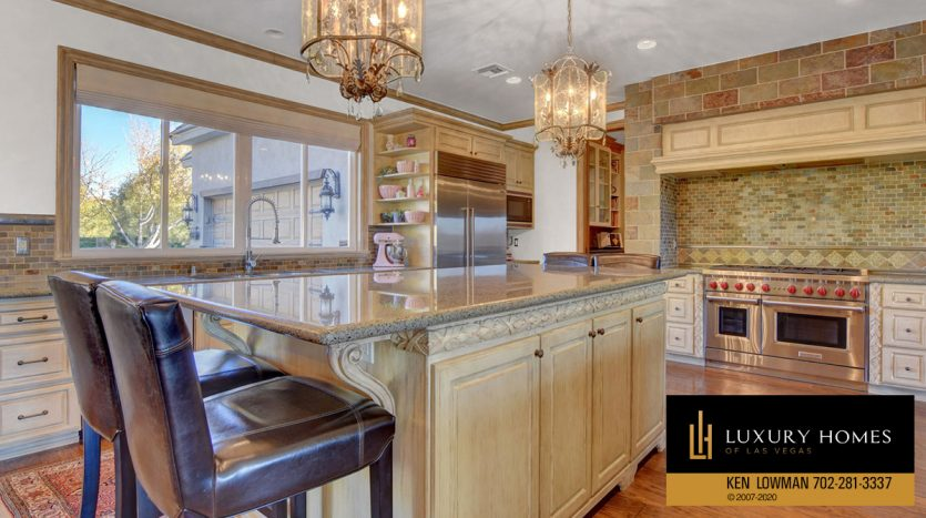 kitchen at Seven Hills Home for Sale, 1355 Opal Valley St