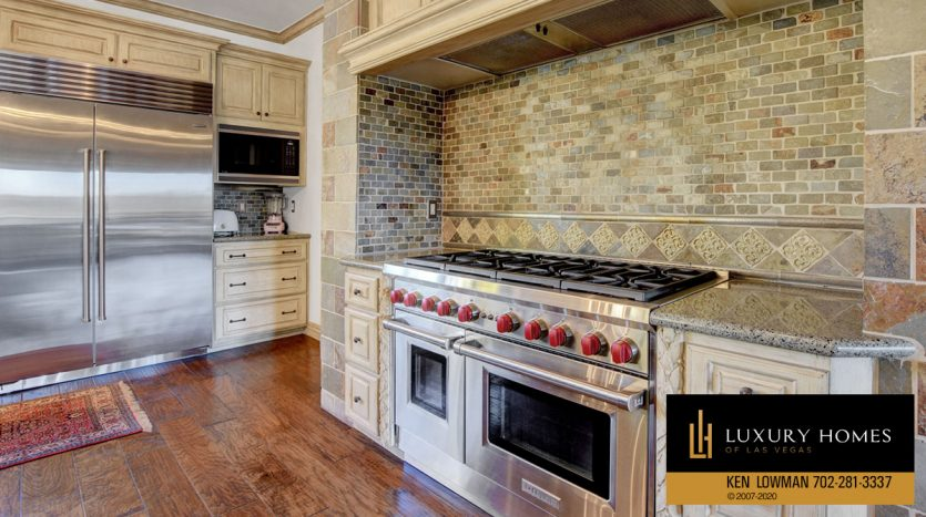 cooking range at Seven Hills Home for Sale, 1355 Opal Valley St