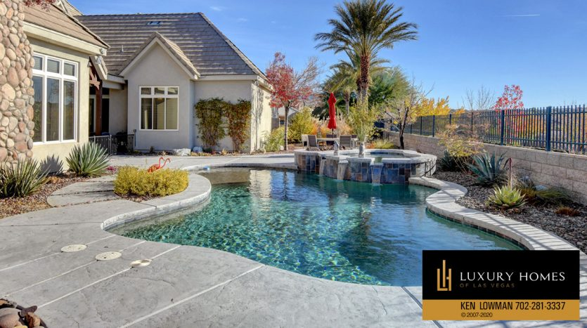 pool at Seven Hills Home for Sale, 1355 Opal Valley St