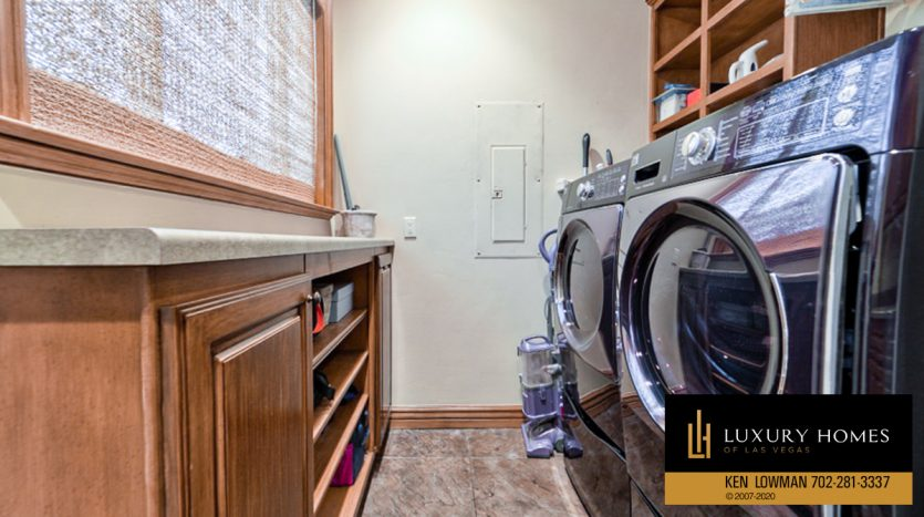 washing machines at Seven Hills Home for Sale, 1355 Opal Valley St