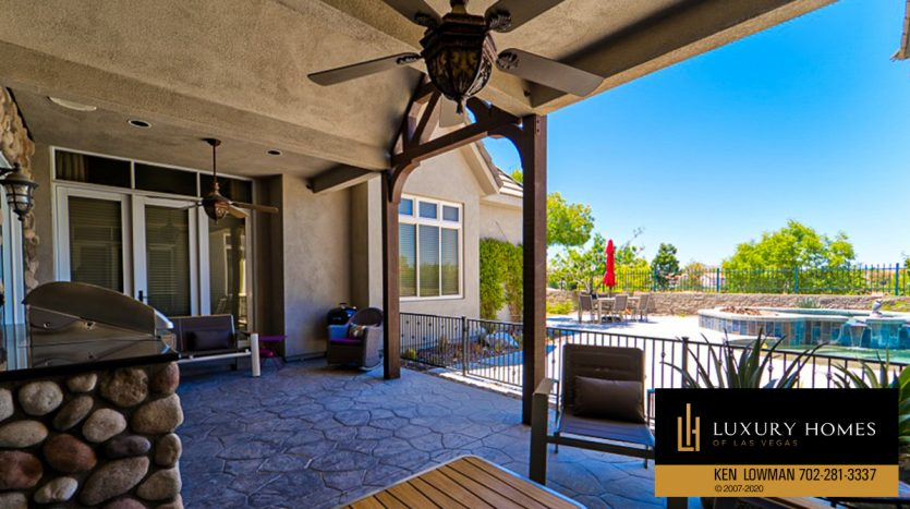 sit out at Seven Hills Home for Sale, 1355 Opal Valley St