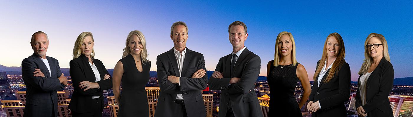 ken lowman and luxury homes of las vegas sales team