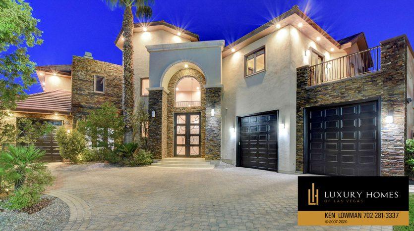 Entrance at 9501 Balatta Canyon Ct, Las Vegas