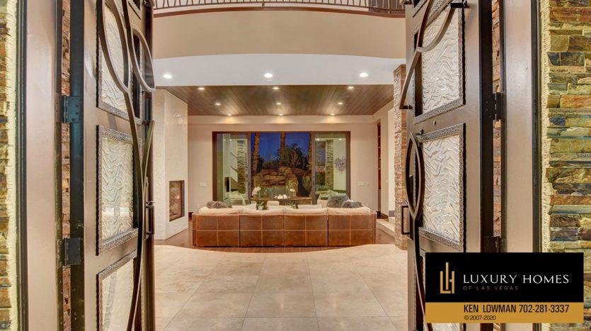 Entry area, 9501 Balatta Canyon Ct, Las Vegas