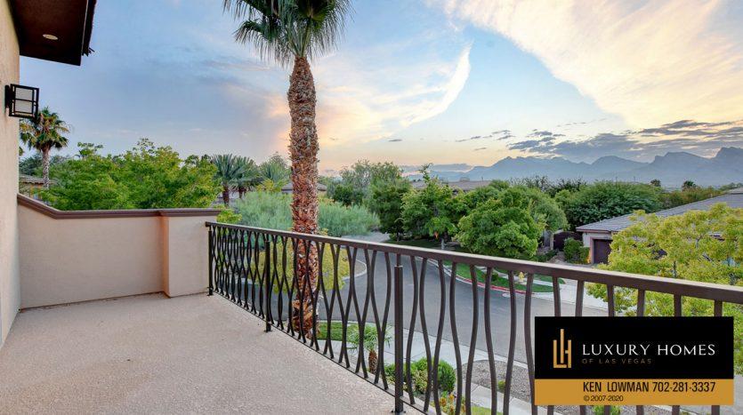 Balcony view at , 9501 Balatta Canyon Ct, Las Vegas