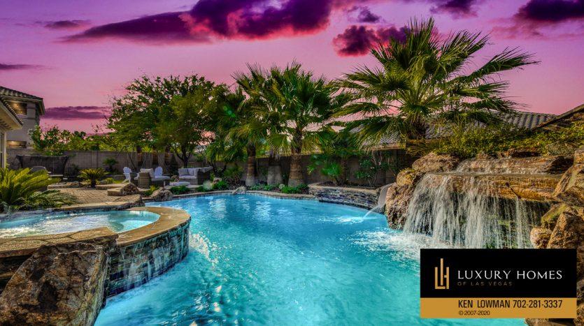 beautiful poolside, 9742 Amador Ranch Ave, Las Vegas