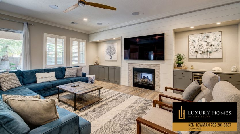 living area, 9742 Amador Ranch Ave, Las Vegas, NV 89149