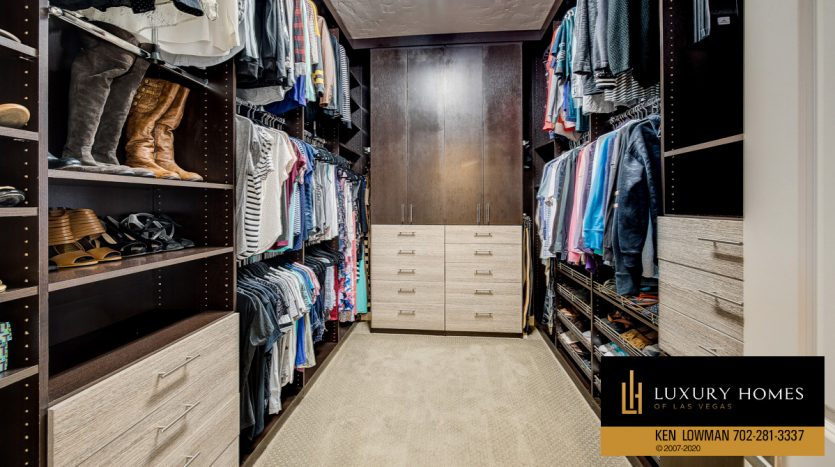 walk-in closet area, Centennial Home for Sale