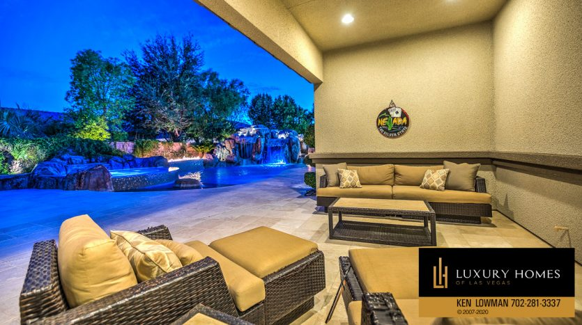 poolside, Centennial Home for Sale
