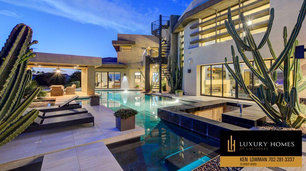 Pool at Seven Hill home, Seven Hills Home for Sale, 2809 Via Tazzoli Ct