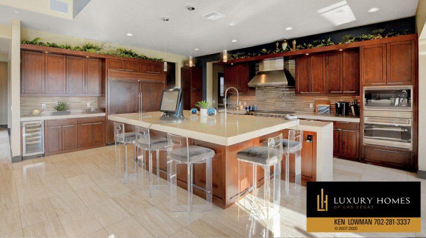Kitchen at Henderson home, Seven Hills Home for Sale, 2809 Via Tazzoli Ct