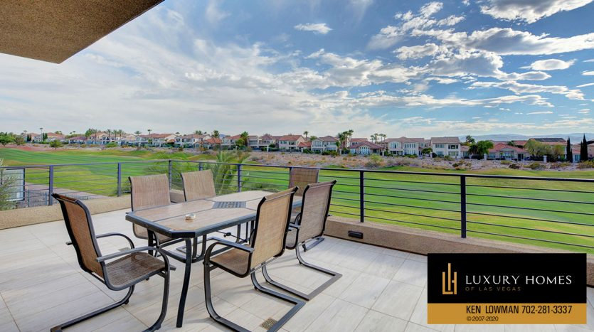 Sit out at Seven Hills Home for Sale, 2809 Via Tazzoli Ct, Henderson