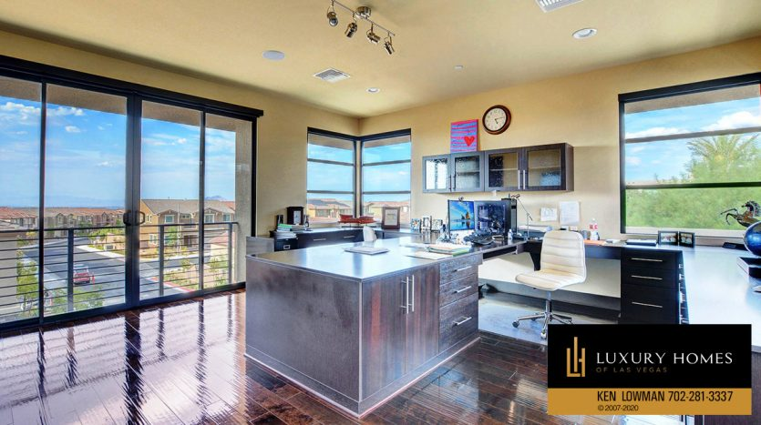 kitchen at Seven Hills Home for Sale, 2809 Via Tazzoli Ct, Henderson