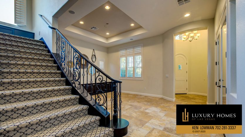 Custom stairway, 11554 Trevi Fountain Ave