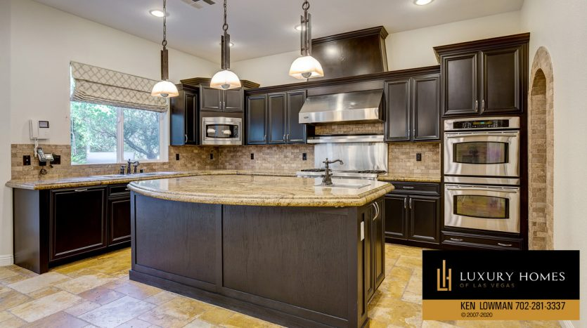 Kitchen counter at Summerlin - Barrington Home for Sale