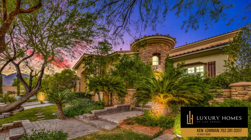 Summerlin - Barrington Home for Sale, 11554 Trevi Fountain Ave