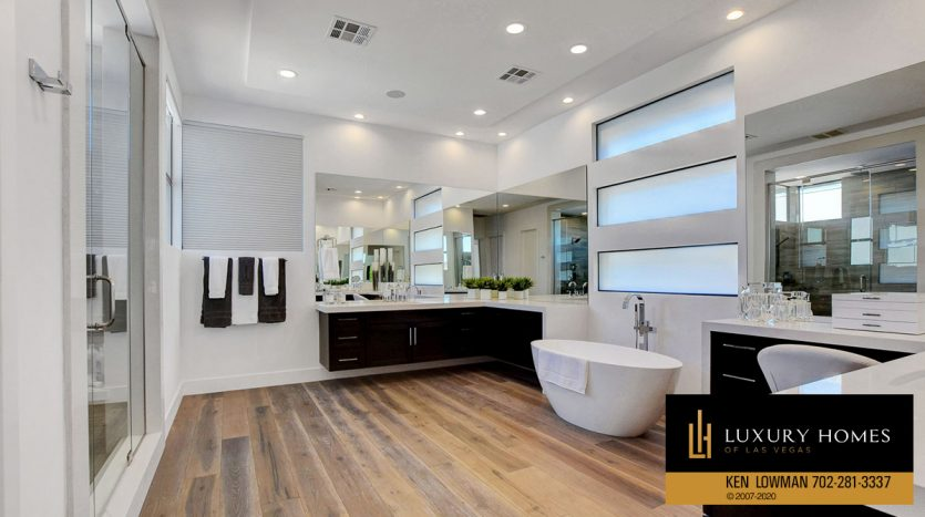 Bathroom at 11436 Opal Springs Way, Las Vegas