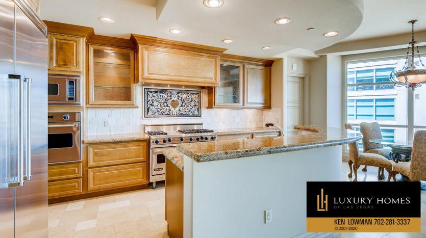 kitchen at One Queensridge Place Home for Sale, 9103 Alta Dr UNIT 1007