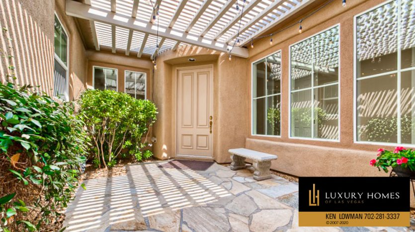 Entrance to Red Rock Country Club Home for Sale
