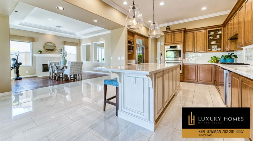Kitchen at Rock Country Club Home for Sale, 11494 Glowing Sunset Ln