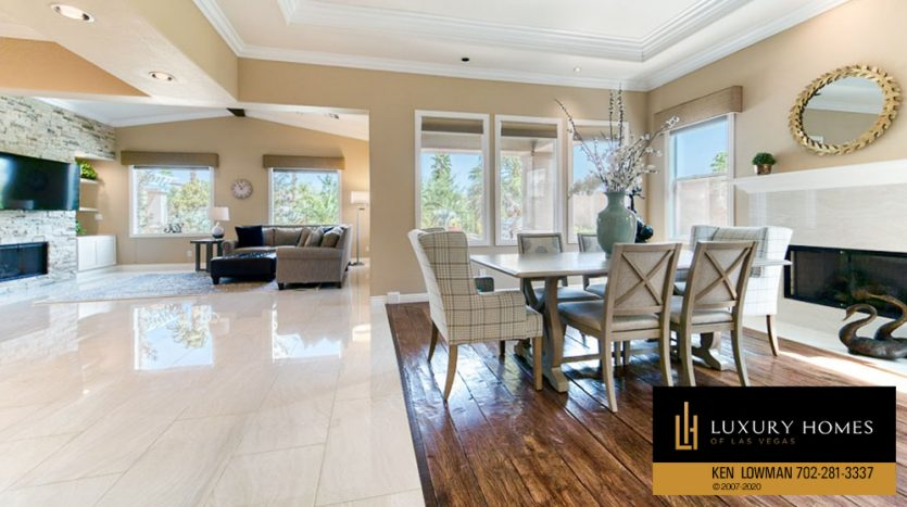 Dining at Rock Country Club Home for Sale, 11494 Glowing Sunset Ln