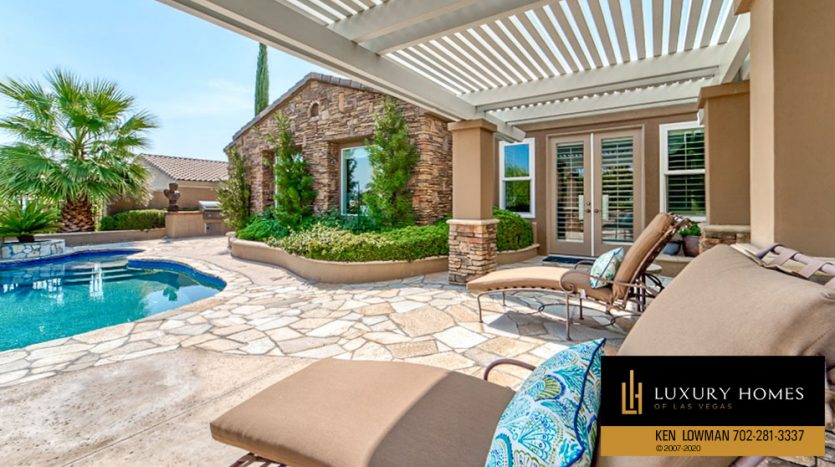 Poolside at Red Rock Country Club Home for Sale, 11494 Glowing Sunset Ln