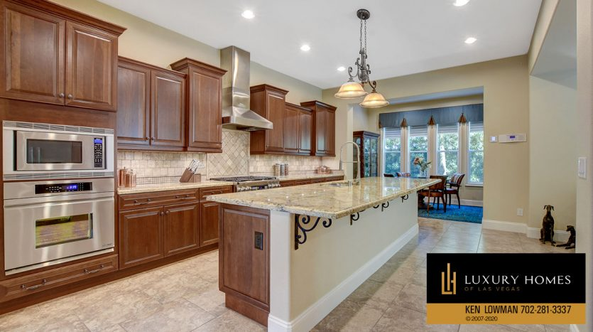 kitchen counter at Southern Highlands Home for Sale, 3863 Glasgow Green Dr