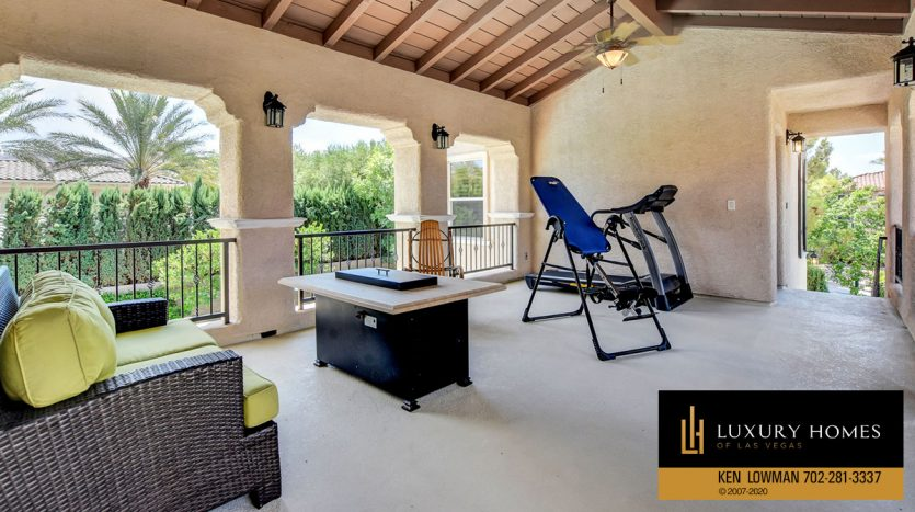 sit out and gym at Southern Highlands Home for Sale, 3863 Glasgow Green Dr
