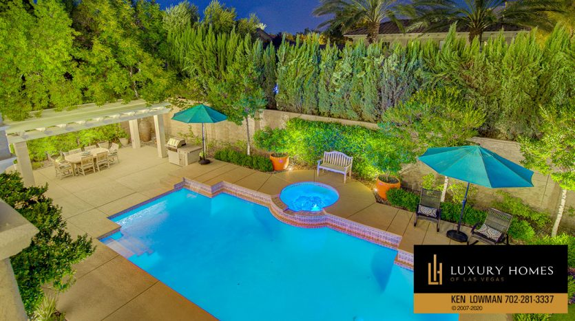pool view at Southern Highlands Home for Sale, 3863 Glasgow Green Dr