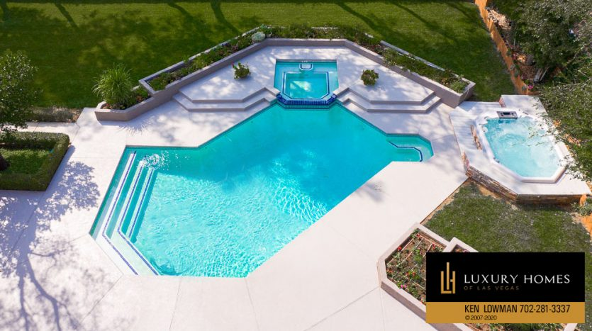 pool view at Ten Oaks Home for Sale, 1501 Golden Oak Dr