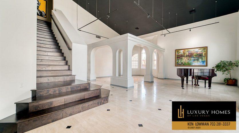 stairway at Ten Oaks Home for Sale, 1501 Golden Oak Dr