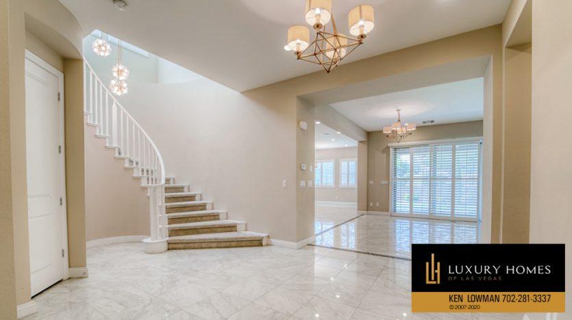 stairway at Summerlin (Altura) Home for Sale, 12030 Vento Forte Av