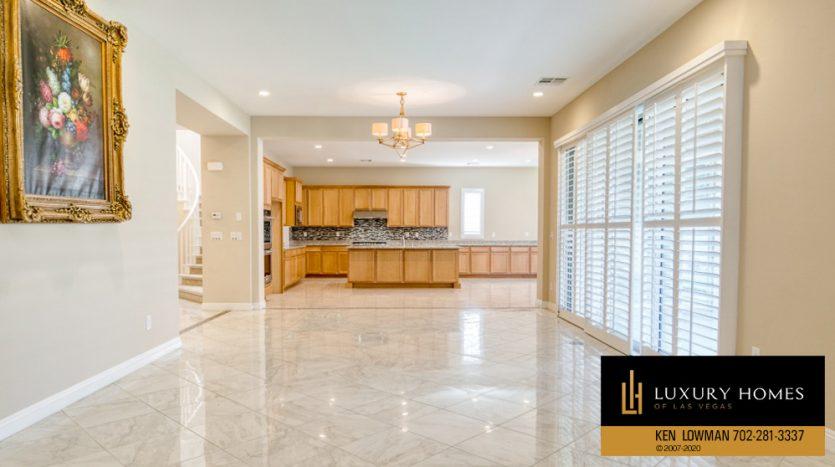 living room area at Summerlin (Altura) Home for Sale, 12030 Vento Forte Av