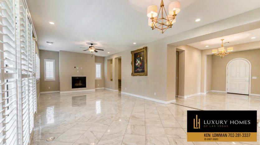 wide room area at Summerlin (Altura) Home for Sale, 12030 Vento Forte Av