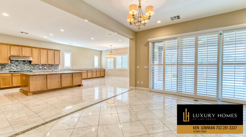 kitchen area at Summerlin (Altura) Home for Sale, 12030 Vento Forte Av