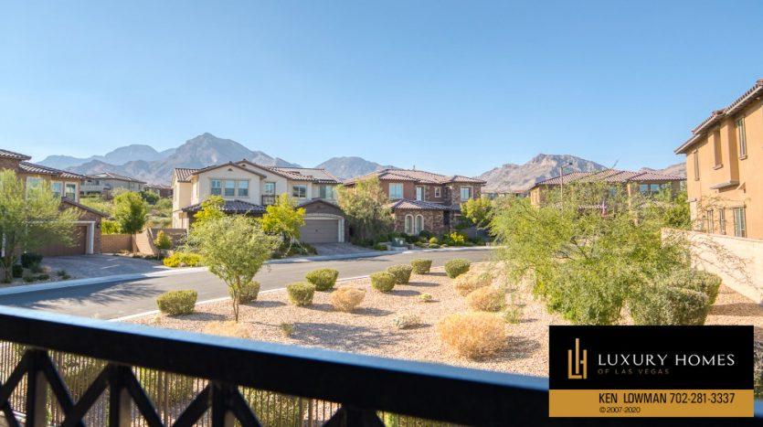 balcony view at Summerlin (Altura) Home for Sale, 12030 Vento Forte Av